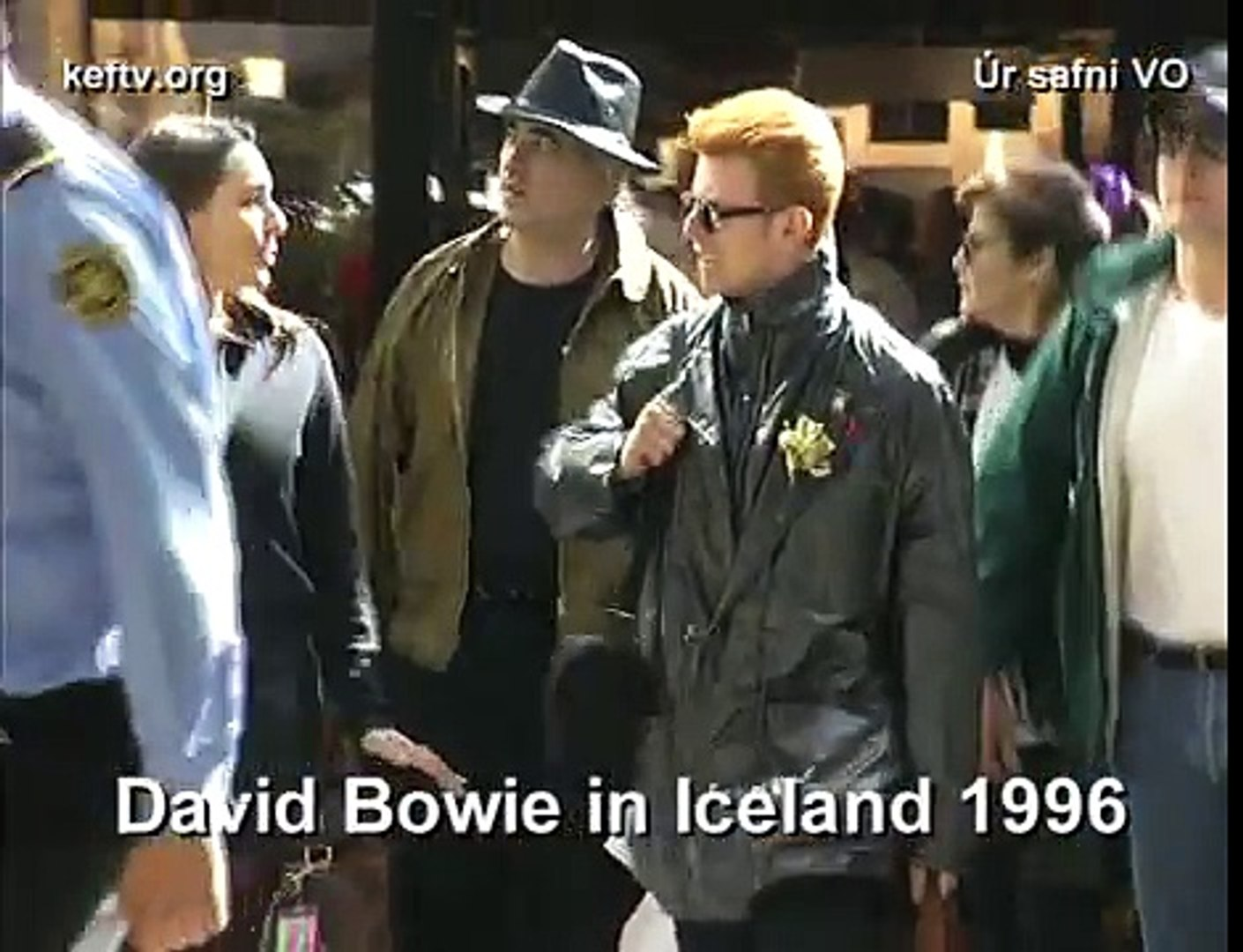 David Bowie - Keflavik - Iceland - 1996