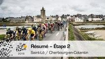 Résumé - Étape 2 (Saint-Lô / Cherbourg-en-Cotentin) - Tour de France 2016