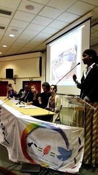 Intervention de Hawa Dème, ex-présidente de l'association des diplômés étudiants maliens en France