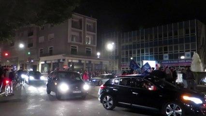 Maubeuge fête la victoire des Bleus en quart de finale de l'Euro 2016