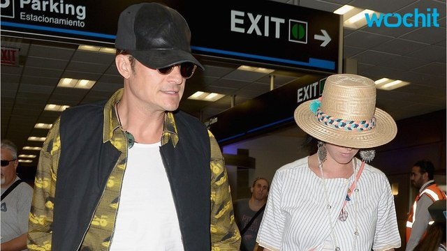 Katy Perry Orlando Bloom And Ex John Mayer Have A Three Way Date?