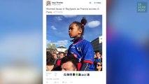 Mèmes, gifs, la victoire écrasante des Bleus se jouait sur Twitter