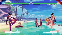 Street Fighter V Juri Uncensored Mod PC Gameplay preview