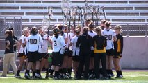 Towson University Women's Lacrosse vs. Temple University (3-22-11)