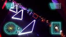 Cette course de Drone de nuit ressemble à Star Wars ou Tron