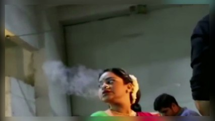 Sumona Chakravarti Caught Doing This 'Bad Thing' On Camera !! News !! News Adda