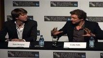Colin Firth, H. Bonham-Carter - The King's Speech Full press conference, London Film Festival