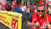 700 personnes défilent à Tours