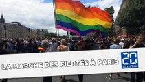 Gay Pride : Ambiance dans la Marche des Fiertés