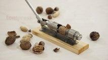 Casse noix à levier pour tout type de noix