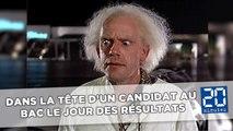 Dans la tête d'un candidat au bac le jour des résultats