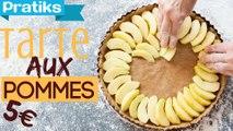 Cuisiner une tarte aux pommes express - Les astuces étudiantes