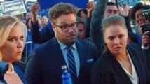 Tough bodyguard Ronda Rousey tackles Seth Rogen