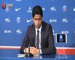 PSG : L'intervention de Nasser al-Khelaifi