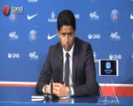 PSG : L'intervention de Nasser al-Khelaifi