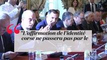 Que répond Manuel Valls aux revendications des Corses ?