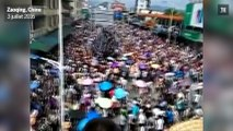 Des violences lors d'une manifestation contre un incinérateur en Chine