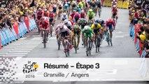 Résumé - Étape 3 (Granville / Angers) - Tour de France 2016