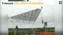 Chine : la construction du plus grand téléscope au monde est terminée