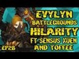 Evylyn - 6.1.2 level 100 Arms warrior Bg's Ft Xuen Sensus & toffee wow wod warrior rogue monk pvp