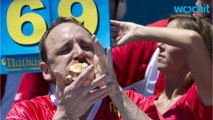 Joey Chestnut Reclaims Title In Annual Hot Dog Eating Contest