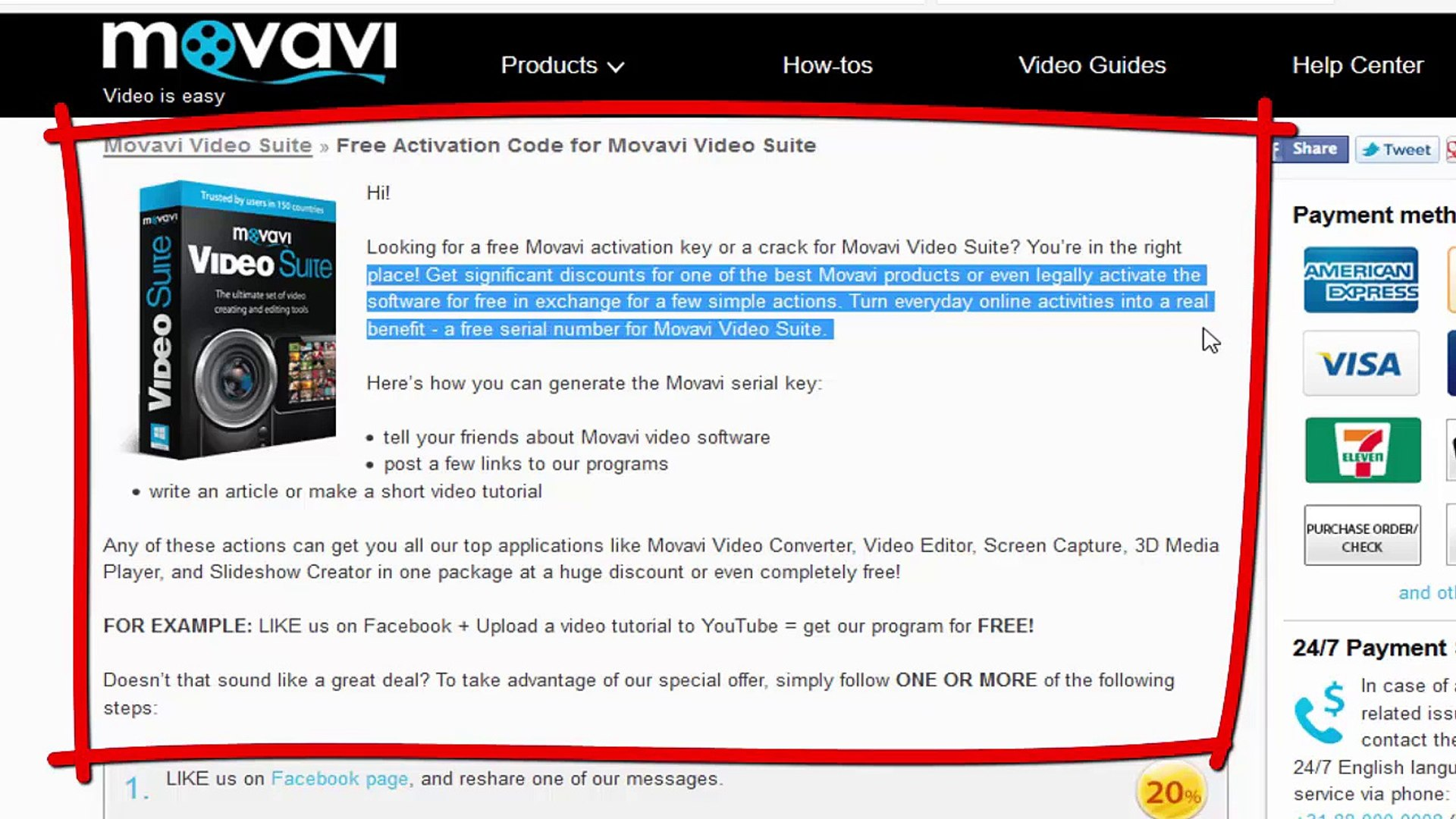movavi video suite 12 activation code