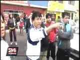 Chimbote: oleaje inundó 20 viviendas y pobladores exigen apoyo de autoridades
