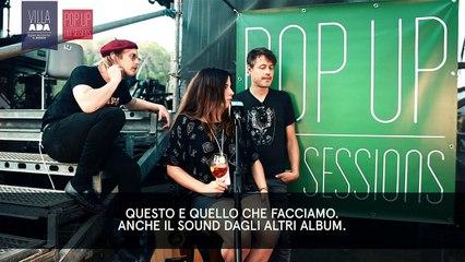 Black Mountain live sul palco di Villa Ada- Roma- Viteculture