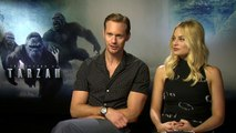 Alexander Skarsgard doesn't recommend sex with Margot Robbie