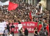Firenze: corteo studenti sciopero 10 ottobre