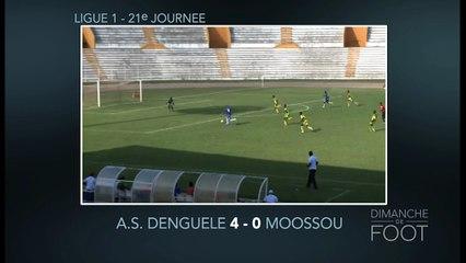 Résumé de la 21e journée de la Ligue 1 ivoirienne de DDF du 3 juillet 2016.