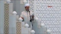Diyanet İşleri Başkanı Görmez, Ramazan Bayramı Hutbesi Okudu