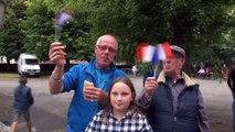 Le match France-Islande vu de Bouchain