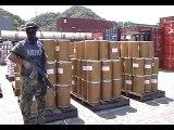 Marina asegura 24 toneladas de precursores químicos en Manzanillo