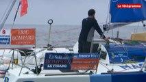 Solitaire Bompard-Le Figaro. 3e étape : Yoann Richomme lutte pour la victoire