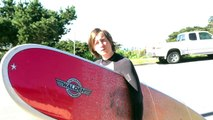 KC Turner goes surfing before a big show THIS SATURDAY! 1/19/13