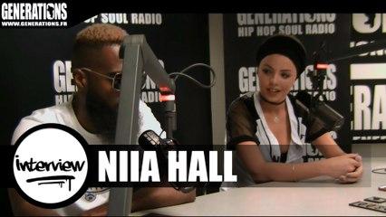 Niia Hall - Interview (Live des studios de Generations)