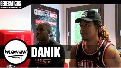 Danik - Interview (Live des studios de Generations)