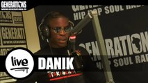 Danik - Snapsénagame (Live des studios de Generations)