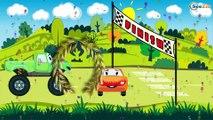 The Tow Truck - Service Vehicles. Emergency Kids Cartoon. Cars & Trucks Cartoons for children