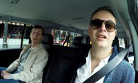Driving round LA with Nicolas Winding Refn: 'I will go against good taste till I die' – video feature
