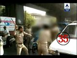 Surat: Video shows IPS officer thrashing purse-snatcher