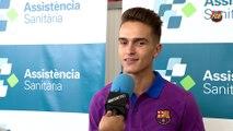 "Denis Suárez: ""I want to be a success at Barça"""