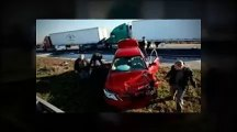 I-75 Gainesville, Fl Deadly Crash Kills 10 (Florida Man's Vehicle Crash Under Semi-Truck)