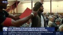 """Un militant se fait déchirer sa chemise lors d'un meeting """"Hé oh la gauche"""" - ZAPPING ACTU DU 05/07/2016"""