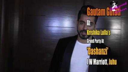 Gautam Gulati At Krishika Lulla's Grand Party At 'Dashanzi, JW Marriott, Juhu