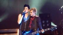 Adam Lambert - Band Intro (Tommy) - SF Warfield 7/25/2010 (HQ)