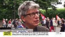 """""""Plus un gouvernement est minoritaire, plus il met des policiers dans la rue"""" (Éric Coquerel)"""
