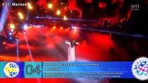 Eurovision 2016 Sweden l MY TOP 5 (5/27) (Melodifestivalen)