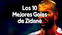 Los 10 Mejores Goles de Zidane - Top 10 Zidane Goals